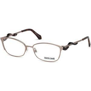 Roberto Cavalli Cat Eye Eyeglasses Shiny Pink